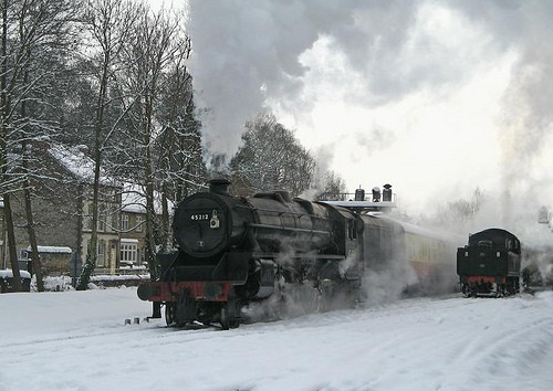 Santa Claus is coming to the… North Yorkshire Moors Railway!
