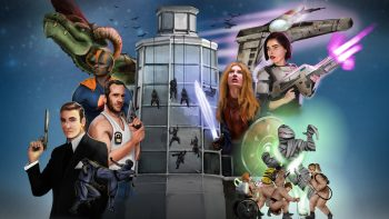 Superheroes at the Royal Armouries Museum
