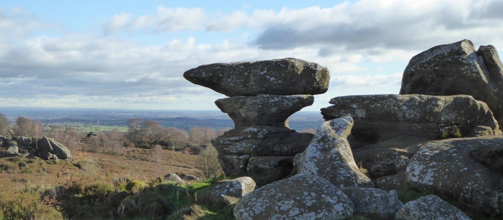 Explore Brimham Rocks!