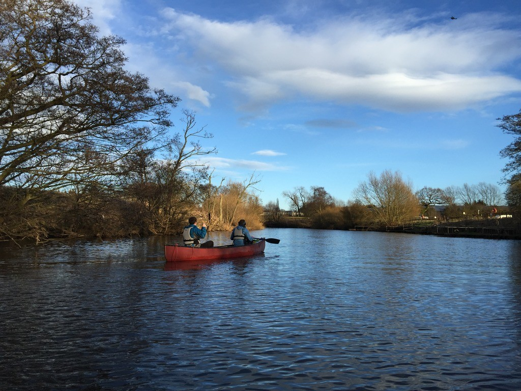 Canoeing from Ripon to Boroughbridge